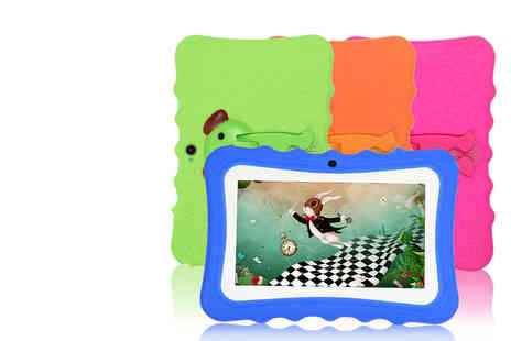 Domo Secret - 7 Inch quadcore tablet with case choose from four colours - Save 82%