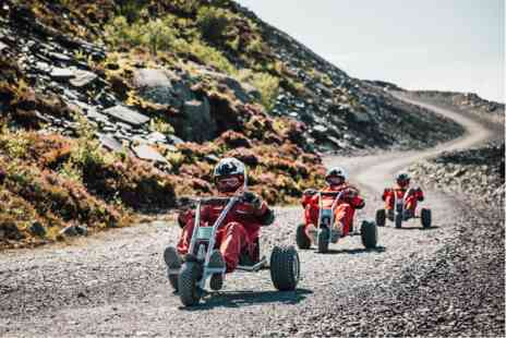 Virgin Experience Days - Quarry Karts Experience for Two - Save 0%