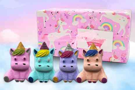 Bathtime Boutique - Handmade unicorn bath bomb gift set - Save 62%