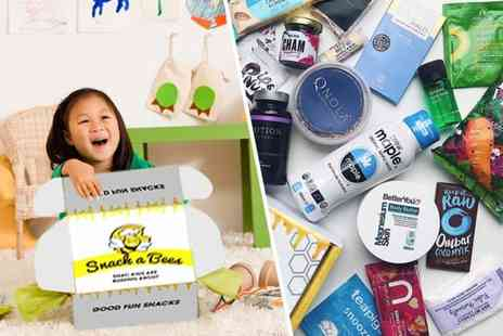 Snackabees - One month subscription healthy kids snack box - Save 55%