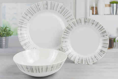 Direct Sourcing Project - 12 piece drift dinner set - Save 0%