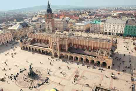 Krakow at Four star Hotel Galaxy - 2 To 4 Nights at the Galaxy Hotel with Breakfast, Flights and Option for Auschwitz Tour - Save 0%