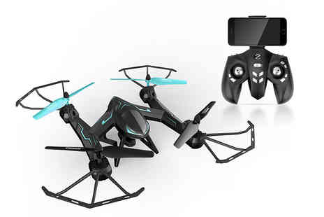 Wowcher Direct - Remote controlled camera stunt drone - Save 0%