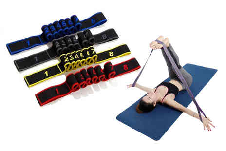 CN Direct Biz - One yoga resistance band choose from four colours - Save 80%