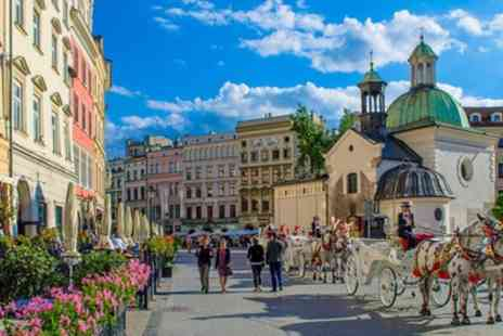 Krakow and Budapest, Prague or Warsaw - 4 or 6 Nights at a Choice of Hotels with Flights and Transfers - Save 0%