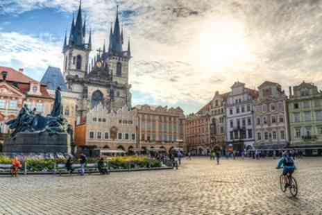 Prague Four star Break with Breakfast - 2 To 4 Nights at a Choice of Hotels with Breakfasts and Flights - Save 0%