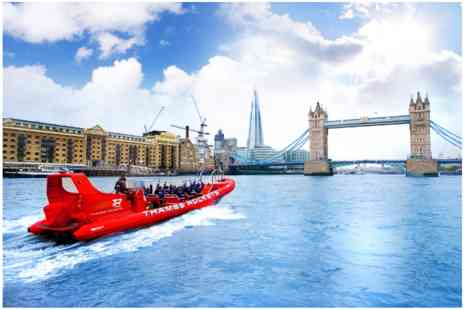 Thames Rockets - Speed Boat Voyage for Two - Save 0%