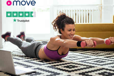 MoveGB - Home online subscription get access to hundreds of taster classes - Save 50%