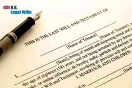 UK Legal Wills - An online Last Will and Testament and Living Will making service - Save 57%