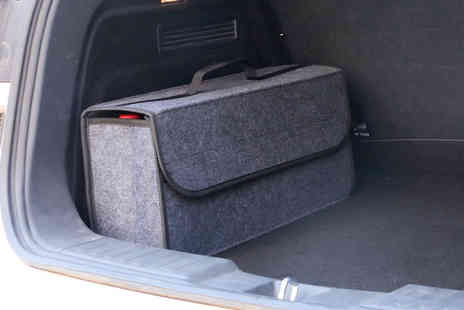 Arthur Gold - Folded felt car storage box choose your colour - Save 74%