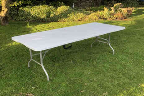 IQGB - 6ft folding garden table - Save 70%