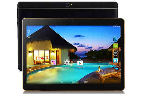 Wish Whoosh Offers - 10 Inch Android Wi-Fi 3G Smartpad Tablet - Save 82%