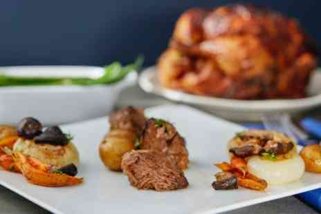Friends Restaurant - Two Course Gourmet Meal Delivery with Optional Wine for One or Two - Save 47%