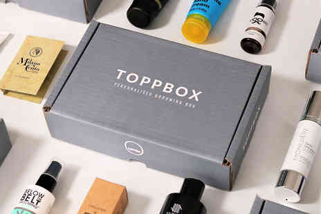 TOPPBOX - Personalised mens luxury grooming mystery box get up to seven premium products - Save 51%