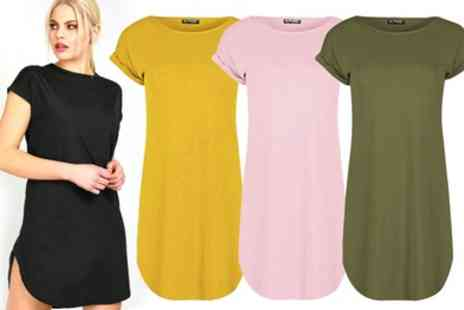 Groupon Goods Global GmbH - Oops Oversized Tshirt Dress - Save 0%
