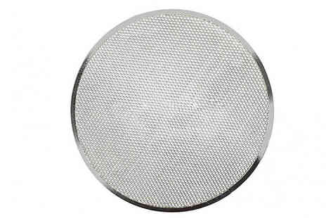 My Blu Fish - Non Stick Round Mesh Pizza Tray Choose from 6 Sizes - Save 75%
