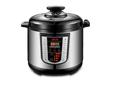 RLR distribution - Six litre electric pressure cooker - Save 0%
