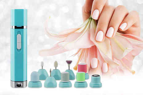 Magic Trend - Nine in one manicure and pedicure electric nail drill machine set - Save 72%