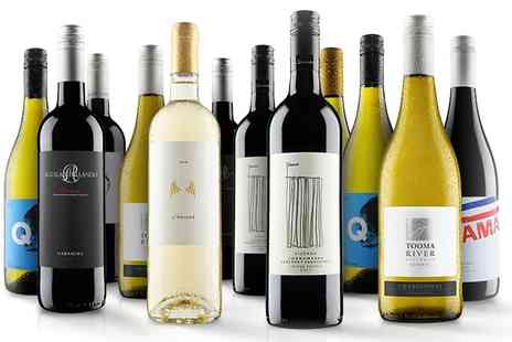 Virgin Wines Online - 12 Bottle case of red, white or mixed wines - Save 54%
