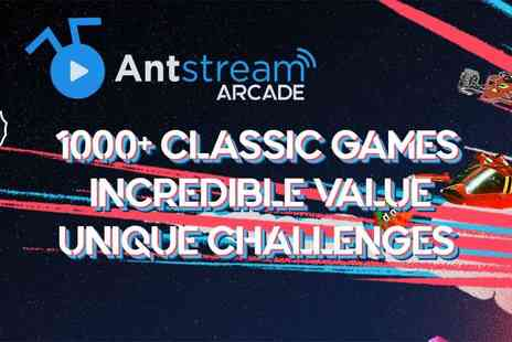 Anstream - The Retro Arcade, 50% off Monthly or Annual Subscription - Save 50%
