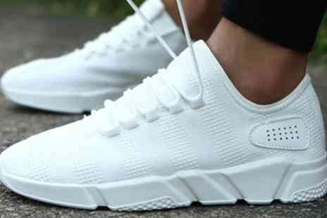 Groupon Goods Global GmbH - Mens Breathable Mesh Sneakers - Save 0%
