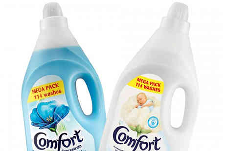 Ebeez - Comfort Liquid Fabric Conditioner 4L Choose from 2 Scents - Save 62%
