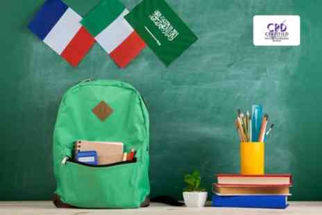 Alpha Academy - Arabic or Beginners French or Italian Online Course - Save 96%