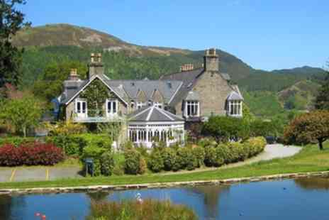 Penmaenuchaf Hall Hotel - 1 or 2 Nights for Two with Breakfast, Sparkling Wine - Save 26%