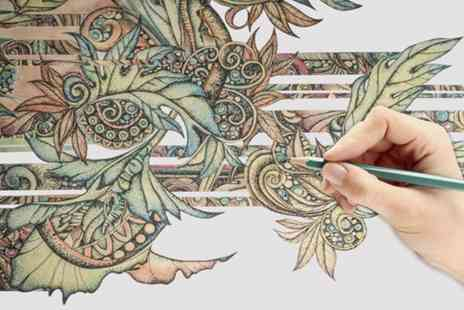 Virgin Experience Days - Creative Colouring Online Course - Save 0%