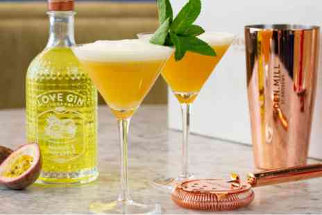 Virgin Experience Days - Eden Mill Mango and Pineapple Gin Liqueur with Martini Glasses - Save 0%