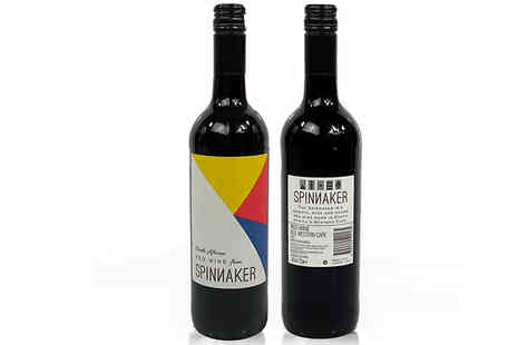 Eliots - 6 or 12 Bottles of Spinnaker South African Red Wine - Save 44%