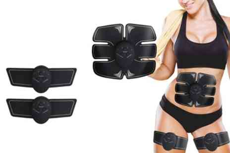 Groupon Goods Global GmbH - Muscle Stimulator Set for ABS, Arms and Legs - Save 66%