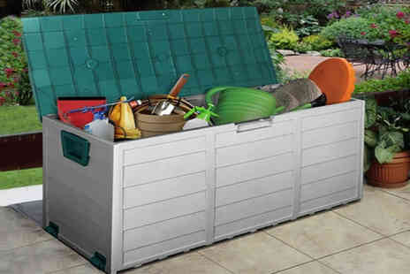 Direct2Publik - Heavy duty extra large outdoor storage box - Save 49%