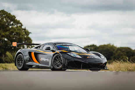 Drift Limits - 14 lap McLaren GT3 driving experience get the perfect gift - Save 50%