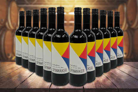 Green Ridge Wines - 12 bottle case of Spinnaker red wine - Save 0%