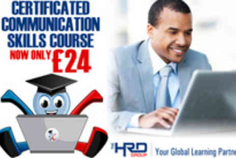 The HRD Group - Needing to hone your communication skills Try this Communication Skills Course - Save 91%