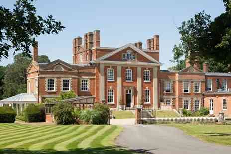 The Park Spa at Warbrook House - Spa day for one person with afternoon tea, bubbly, four treatments - Save 51%