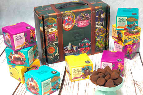 Honeycomb Project Management - Monty Bojangles 3 Flavour Chocolate Truffle Trunk - Save 38%