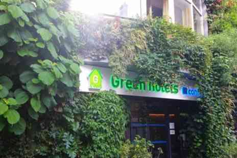 Green Hotel Paris 13 - Double Room for Two with Breakfast - Save 42%
