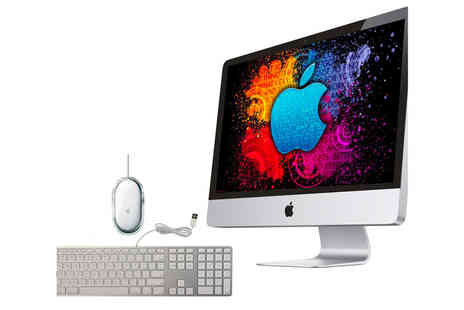 The IT Refurbisher - Refurbished 20 inch 4GB RAM 160GB Apple iMac A1224 with a non Apple wireless keyboard and mouse - Save 27%
