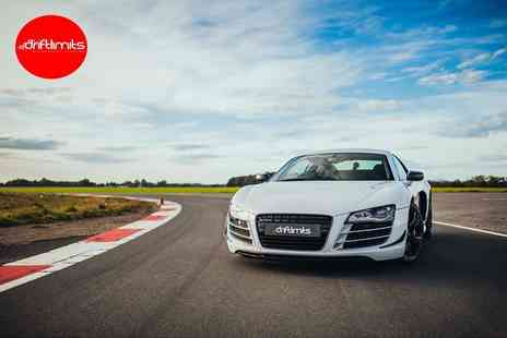 Drift Limits - 14 lap Audi R8 driving experience - Save 50%