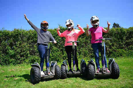 Segway Unleashed - Off road Segway experience for one person - Save 40%