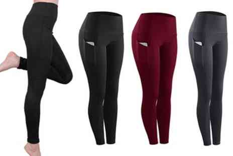 Groupon Goods Global GmbH - Womens Yoga High Waist Pants - Save 63%