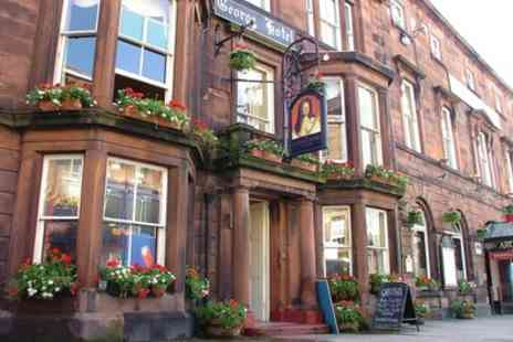 The George Hotel Penrith - Double Room for Two with Breakfast, 3 Course Dinner, Prosecco - Save 47%