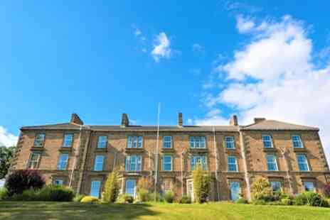Gilsland Hall Hotel - Budget, Standard or Deluxe Double for Two with Breakfast, Dinner - Save 56%