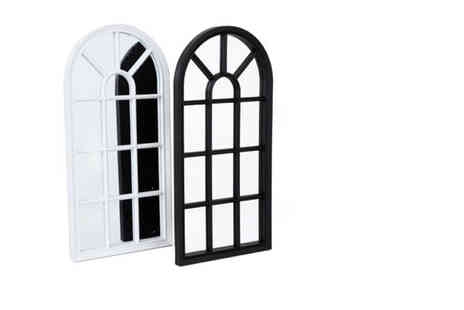 Direct2public - 70cm window style mirror - Save 50%