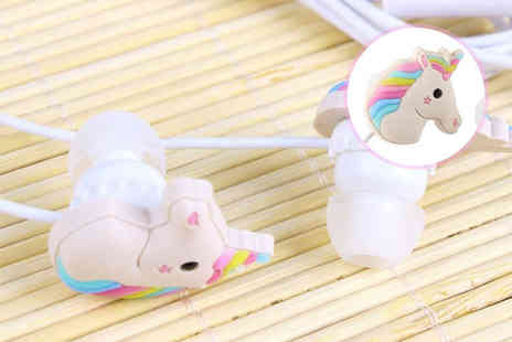London Exchain Store - Unicorn Shaped Earphones - Save 75%