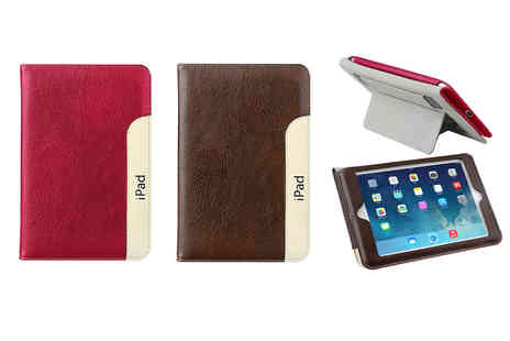 Eshaan - Magnetic PU leather iPad air smart stand, choose from two colours - Save 0%