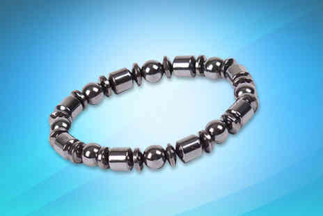London Exchain Store - Magnetic Therapy Wellbeing Bracelet - Save 0%