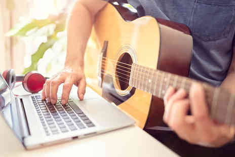 Live Academy Education - Online Guitar Basics diploma course - Save 98%